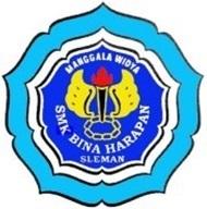 Logo SMK Bina Harapan Sleman
