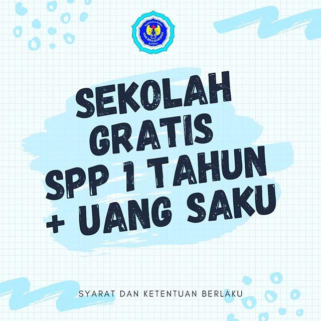 Beasiswa SPP Gratis 1 Tahun + Uang Saku di SMK Bina Harapan